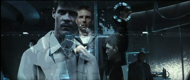 minority report from story to screen From story to screen the story/the debate (sd, 10 min) – spielberg and cruise gush about working with each minority report: commercials of the future (hd.